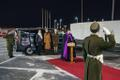 The EDF saw off the ashes of Gen. Einseln in a ceremony held at Tallinn Airport on Wednesday morning. March 28, 2018.