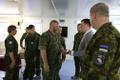 Prime Minister Jüri Ratas (Center) and Commander of the Estonian Defence Forces Gen. Riho Terras visit Estonian troops serving UNIFIL mission in Lebanon.