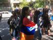 Rahvas Jerevani tänavatel.