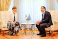 Kersti Kaljulaid ja Alexis Tsipras