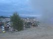 Пожар на территории BRD Mineral в Сомпа.