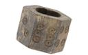 14th/15th Century bone dice, first of its kind found in Estonia (a similar example had been found in Turku, Finland).
