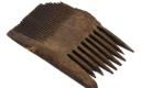 Wooden comb, 15th Century.