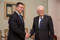 Itaalia president Sergio Mattarella kohtumas Eesti peaministriga.