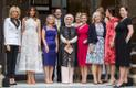 NATO leaders partners pose for a photo.