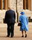 USA president Donald Trump kohtus kuninganna Elizabeth II-ga.