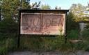 Vandalised memorials in Kalevi-Liiva, a Holocaust execution site in Harju County.