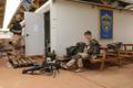 Estonian troops in Gao, Mali.