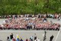 Торжественная линейка в Нарвской Ваналиннаской государственной школе.