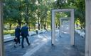 The renovated and reopened Tammsaare Park in Central Tallinn.