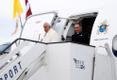 Rooma paavst Franciscus saabus Riiga