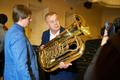 Ülem-Suetuki Eesti puhkpilliorkester sai uued pillid