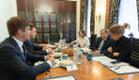 Jüri Ratas kohtus Bill Gatesiga
