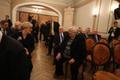 Valitsuse juubeliistungile järgnenud aktus, esiplaanil Maret Maripuu ja Marju Lauristin