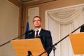 Sven Misker pressikonverentsil