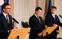 Jüri Ratasele meenutas 14. märtsi valitsuse pressikonverents 2018. aasta 15. novembri pressikonverentsi, kus Urmas Reinsalu ja Sven Mikser vahetasid samuti tuliseid repliike.