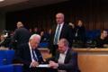 30 aastat suveräänsusdeklaratsioonist konverents, Arnold Rüütel, Henn Põlluaas ja Ain Saarna