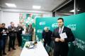 Пресс-конференция Центристской партии.