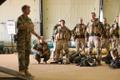 Malis teeniv jalaväerühm veetis öö vaatluspostil.