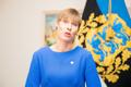 President Kersti Kaljulaid tegi ÜRO ränderaamistiku kohta avalduse.