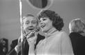 Laulja ja teletoimetaja Kalmer Tennosaare 50. sünnipäev: Kalmer   Tennosaar ja Heli Lääts. 1978