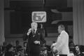 Eesti Televisiooni 25. aastapäeva tähistamine Estonia teatris: laulja   Kalmer Tennosaar, dirigent Peeter Saul