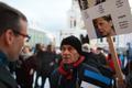 EKRE meeleavaldus Toompeal, meeleavaldajat kuulab välisminister Sven Misker