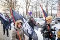 Miitingud Riigikogu juures ja välisministeeriumi ees