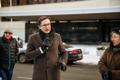 Miitingud Riigikogu juures ja välisministeeriumi ees, mikrofoniga Jaak Madison