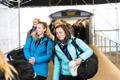 Eesti naiste võrkpallikoondis saabus Soomest