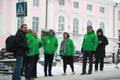 Keskerakonna liikmed Toompea lossi ees.