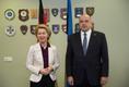 Saksa kaitseminister Ursula von der Leyen ja Eesti kaitseminister Jüri Luik