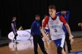 Eesti korvpallikoondise treening  MM-valikmängu eel Serbiaga