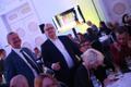 Refomierakonna valimispidu teater NO99 endises majas, Siim Kallas ja Urmas Paet