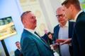 Siim Kallas, Urmas Paet ja Hanno Pevkur Reformierakonna valimispeol