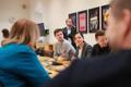 Reformierakonna juhatuse koosolek: Kalle Palling, Liina Kersna ja Aivar Sõerd