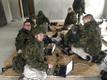 Sõdurid e-etteütlust kirjutamas