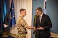 Eestis teenivad Ühendkuningriigi sõjaväelased said missioonimedalid.
