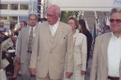 President Lennart Meri ja proua Helle Meri XXIII üldlaulupeol. 1999