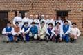 The Brussels, Belgium-based folk dance troupe Euroviisud.