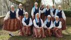 Luxembourg-based folk dance troupe Laiali. March 2019.