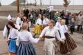 Nootdorp, Netherlands-based folk dance troupe Tuuletütred performing. March 2018.