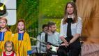 Maarja-Liis Ilus ja Lasteekraani Muusikastuudio laululapsed