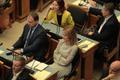 Candidate for Prime Minister Jüri Ratas (Centre) addressed the Riigikogu on Wednesday. 17 April 2019.