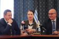 Vadim Belobrovtsev, Betina Beškina ja Kalle Klandorf