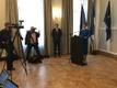 Kohtumisele järgnenud pressikonverents Eesti saatkonnas.