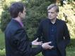 ERR juhatuse liige Hanno Tomberg ja ERR korrespondent Ameerika Ühendriikides Neeme Raud. 2011