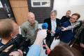 The two men who kicked MEP Indrek Tarand (SDE) at a demonstration last autumn publicly apologized on Friday. May 10, 2019.