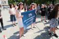 Akadeemiliste töötajate hoiatusstreik Tallinnas Toompeal