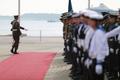 Taani kuninganna vastuvõtutseremoonia Lennusadamas